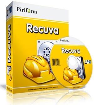 Phần mềm cứu dữ liệu Recuva