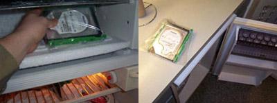 cứu dữ liệu bằng tủ lạnh