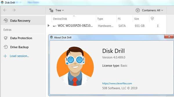 phần mềm khôi phục dữ liệu Disk Drill