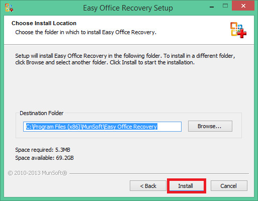 phần mềm Easy Office Recovery