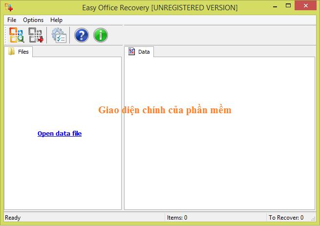 Phần mềm khôi phục dữ liệu tốt nhất cho office