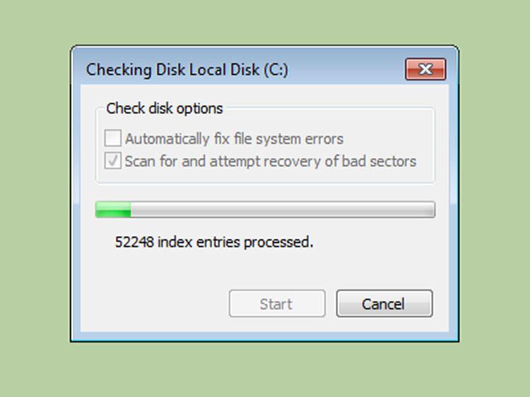 Cách sửa lỗi Bad Sector trên Windows 7 -8