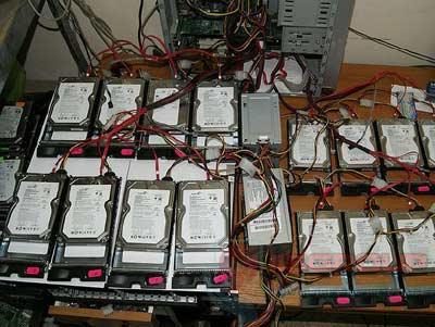 ổ cứng bị hỏng