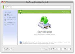 phần mềm CardRescue phục hồi dữ liệu