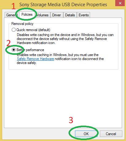 tăng tốc độ truyền file USB -4