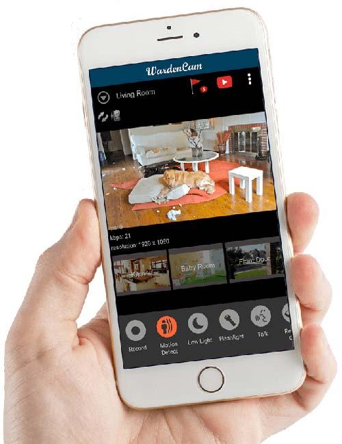 Phần mềm tự chế camera an ninh