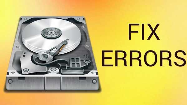 fix lỗi ổ cứng